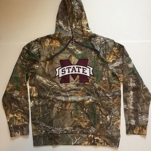 Mississippi State Bulldogs Realtree Camo Hoodie